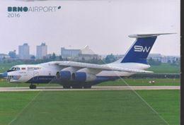 IL 76 TD SW SilkWays Airways SILK WAY Airines ILYUSHIN 76TD  4K-AZ100 - 1946-....: Era Moderna