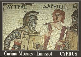 "CYPRUS , "" Tyras Darios "" Curium Mosaics ; CHYPRE , "" Litras Darios "" Mosaîques De Curium ; LIMASSOL - Chypre"