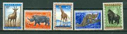 Belg. Congo / Congo Belge 1959 OBP/COB 350/354** MNH - Congo Belge