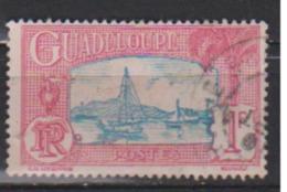 GUADELOUPE           N°  114    ( 18 )    OBLITERE         ( O 1594 ) - Guadeloupe (1884-1947)