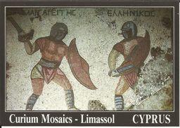 "CYPRUS , "" Magaritis Hellinicos "" Curium Mosaics ; CHYPRE , "" Margaritis Hellinicos "" Mosaîques De Curium ; LIMASSOL - Chypre"