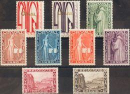 Bélgica. *258/66. 1928. Serie Completa. MAGNIFICA. Yvert 2014: 90 Euros. - Non Classés