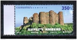 Armenien / Armenie / Armenia 2017, EUROPA CEPT, Castels And Forts, Amberd X-XIIIc - MNH ** - Armenië