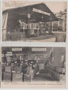 27 Bernay 2 Cpa 1928 Foire Exposition Quincaillerie De La Charentone Voir Affiches Et Plaques Pub éditeur Cliché Walter - Bernay