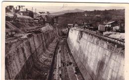 Genissiat Barrage Canal évacuateur Mai 1947 - Génissiat