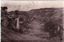 Barrage De Genissiat Vue Gorge Du Rhône Avant Mise En Eau - Génissiat