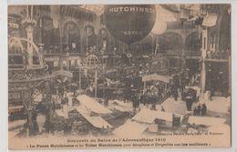 Salon De L'aéronautique 1910 Ballon Pub & Toiles Astra Hutchinson Pour Dirigeables Cliché Nobécourt Imp Réunies Nancy - Montgolfières