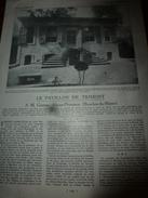 1930 Le Pavillon  De TRIMONT De  M. Gazeau à Aix En Provence - Vieux Papiers