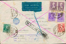 República Española Correo Aéreo. República Española Correo Aéreo. ALGECIRAS / (64). MAGNIFICA. - 1873 1st Republic