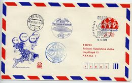 CZECHOSLOVAKIA 1978 Postal Stationery Airmail Envelope For PRAGA 1978 With Printed Address, Used.  Michel LU3A - Sobres