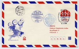 CZECHOSLOVAKIA 1978 Postal Stationery Airmail Envelope For PRAGA 1978 With Printed Address, Used.  Michel LU3A - Postal Stationery