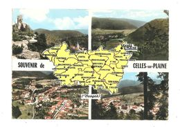Celles-sur-Plaine- Carte Géographique--(C.62) - Frankrijk