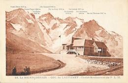 Le Briançonnais, Col Du Lautaret - Chalet-Hôtel-Restaurant Du P.L.M. - Carte Non Circulée N° 28 - France