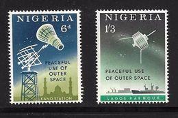 NIGERIA 1963 ESPACE  YVERT N°139/40 NEUF MNH** - Space
