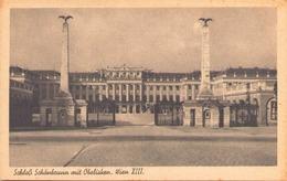SCHLOB SCHOBRUNN MIT OBELISKEN - Château De Schönbrunn