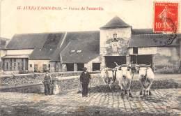 93 - SEINE SAINT DENIS / Aulnay Sous Bois - Ferme De Nonneville - Beau Cliché Animé - Aulnay Sous Bois