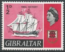 Gibraltar. 1967-69 Ships. ½d MH. SG200 - Gibraltar