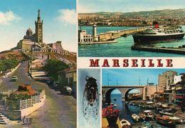 MARSEILLE - Notre Dame De La Garde - Départ D'un Courrier - Vallon Des Auffes - Marsiglia