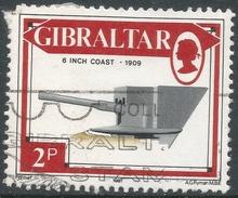 Gibraltar. 1987 Guns. 2p Used. SG 570 - Gibraltar