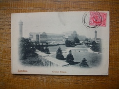Carte Assez Rare , London , Crystal Palace - Autres
