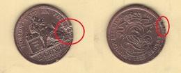 Belgique. Léopold I : 2 Cts 1833. Morin N° 87. TB - 02. 2 Centimes