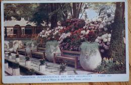 Paris 1925 - Exposition Internationale Des Arts Décoratifs - Jardin Et Maison De Thé Corcellet - Marrast Arch. -(n°8481) - Expositions