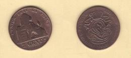 Belgique. Léopold I : 2 Cts 1863. Morin N° 111. TB - 1831-1865: Leopold I
