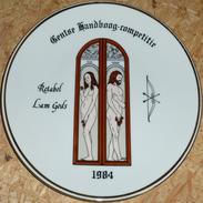 Schuttersbord Retabel Lam Gods 1984 - Tir à L'Arc