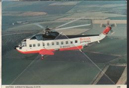 British Airways Sikorsky S-61N G-BDES Helicopter Hélicoptère - Elicotteri