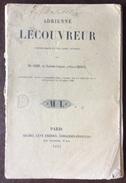 ADRIENNE LECOUVREUR  PARIS MICHEL LEVY FRERES LIBRAIRES EDITEURS PARIS 1851 - Cinema/Televisione
