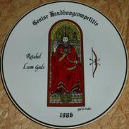 Schuttersbord Retabel Lam Gods 1986 - Tir à L'Arc