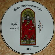 Schuttersbord Retabel Lam Gods 1986 - Tiro Con L'Arco