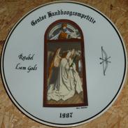 Schuttersbord Retabel Lam Gods 1987 - Tir à L'Arc