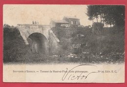 Houte-Si-Plou -Torrent ... Pont - Coin Pittoresque - 1904 ( Voir Verso ) - Neupre
