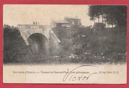Houte-Si-Plou -Torrent ... Pont - Coin Pittoresque - 1904 ( Voir Verso ) - Neupré