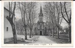 Cpa Labenne - L'Eglise . - Frankreich