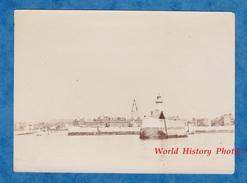 Photo Ancienne - LE HAVRE - Phare De L'ancienne Jetée Nord - 29 Juillet 1905 - Bateaux