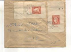 France Timbre N° 841 Sur Lettre - France