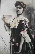 C.P.A.- Artiste 1900 - MIRKA - Photo : Reutlinger - Paris 1900 - TBE - Entertainers
