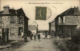 50 - BARNEVILLE - Route De La Gare - Barneville