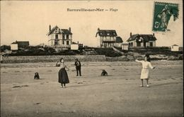 50 - BARNEVILLE - Plage - Badminton - Volant - Barneville