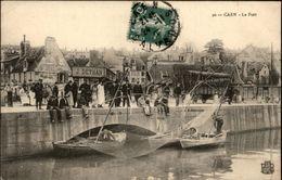 14 - CAEN - Port - Remorque De Déménagement - Caen