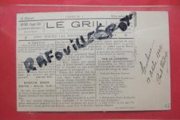 Cp Journal  Le Gril De Toulouse - Autres