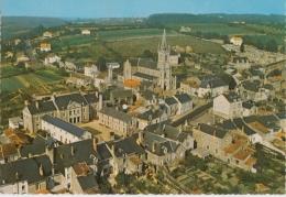 Bg - Cpsm Grand Format OUDON - L'église - La Maison Hospitalière - Oudon