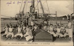 MILITARIA - Scènes De Bord - Marine Militaire - Gymnastique - Militaria