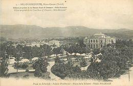 PIE 17-T-4427 :  BELLO HORIZONTE. MINAS-GERNES. PLACE DE LA LIBERTE - Belo Horizonte