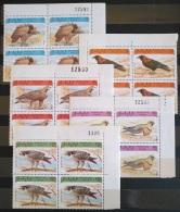 V33 - SAHARA OCC. R.A.S.D. 1993 Complete Set 5v. MNH - Blks/4 - Birds Of Prey, Raptors, Eagles, Falcons - Fauna - Africa (Other)