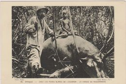 Cpa,afrique,la Chasse En Ouganda,pères Blancs,missionnaire,mange R,survie,propagation De La Foie,catholique,rare,chasse - Ouganda