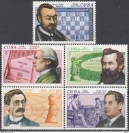 1976 Cuba Chess MNH ** - Schaken