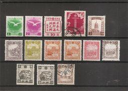 Mandchourie ( Lot De Timbres Divers à Voir) - 1932-45 Mantsjoerije (Mantsjoekwo)